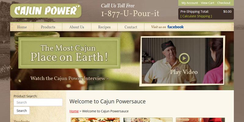 www.cajunpowersauce.com